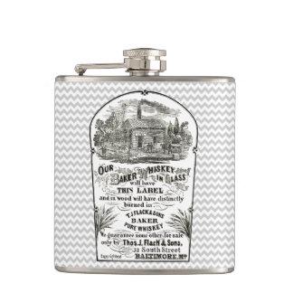 Baltimore Whiskey Vintage 1867 Hip Flask