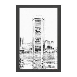 Baltimore- World Trade Center Canvas Print