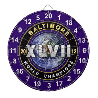 Baltimore XLVII World Champions Football Dartboard