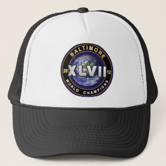 Baltimore XLVII World Champions Football Hat