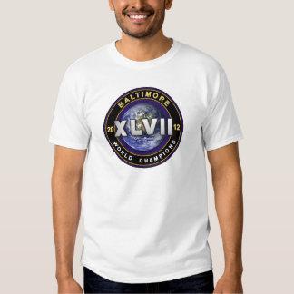 Baltimore XLVII World Champions Football Shirt