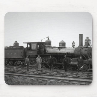 Baltimore y Ohio (motor 932 del ferrocarril de B&O Mousepad