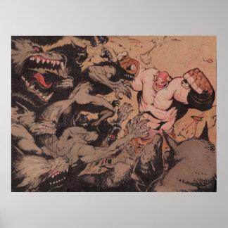 Balto atacó por los hombres lobos póster