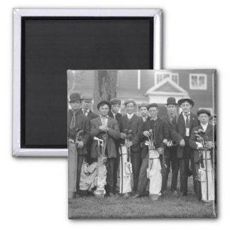Baltusrol Caddies, early 1900s Magnet