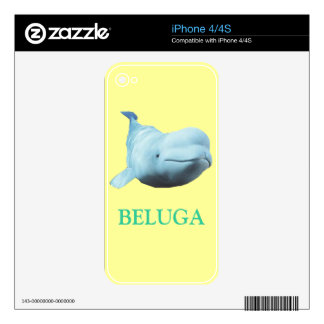 BALUGA IPHONE DECAL FOR THE iPhone 4