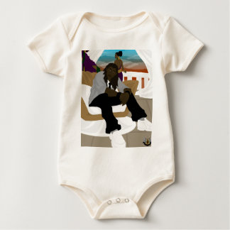 Balustrade Foyer Baby Bodysuit