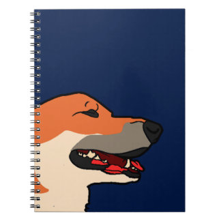 Balyn - Corgi Laugh Spiral Notebook