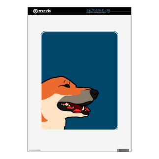 Balyn - risa del Corgi Calcomanías Para iPad