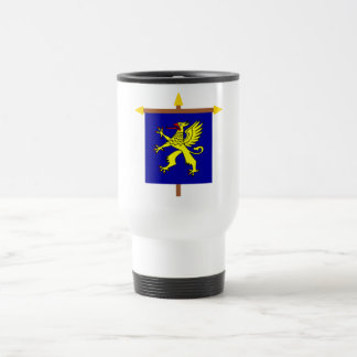 Balzers Armorial Banner on Crossbar 15 Oz Stainless Steel Travel Mug