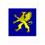 Balzers Armorial Banner Post Card