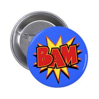 Bam-3 Pinback Buttons
