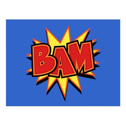 Bam-3 Postcard
