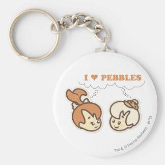 Bam Bam loves PEBBLES™ Key Chains