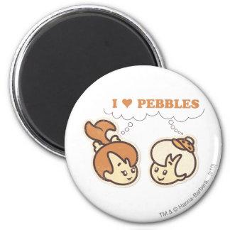 Bam Bam loves PEBBLES™ Magnet