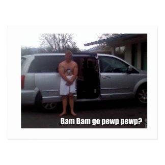 Bam Bam Postcard