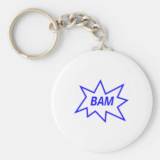 Bam Blue Key Chains