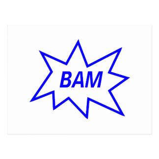 Bam Blue Postcards