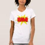 ¡BAM! Camiseta - modificada para requisitos partic