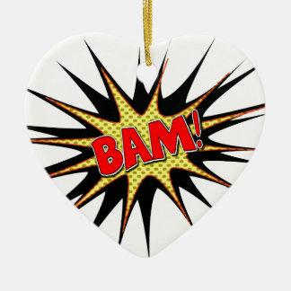 Bam! Christmas Ornament