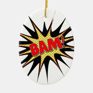 Bam! Christmas Tree Ornament
