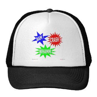 Bam Crash Whamm Hat