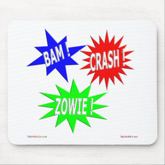 Bam Crash Zowie Mousepad