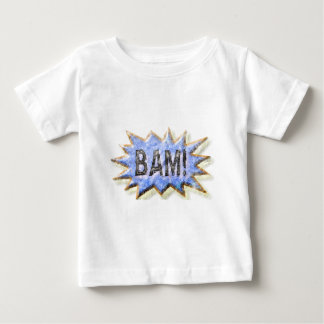 BAM! Distressed look Emeril Apron Baby T-Shirt
