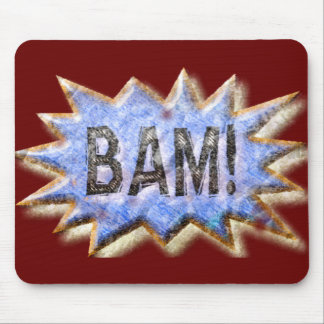 BAM! Distressed look Emeril Apron Mouse Pad