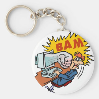 Bam - if the PC strikes back! Keychain