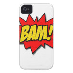 ¡BAM! iPhone 4 Case-Mate CÁRCASAS