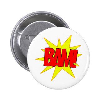 Bam! Pinback Button