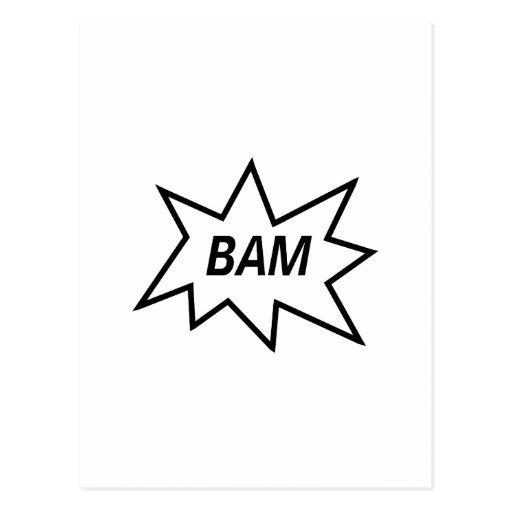 ¡Bam! Postales