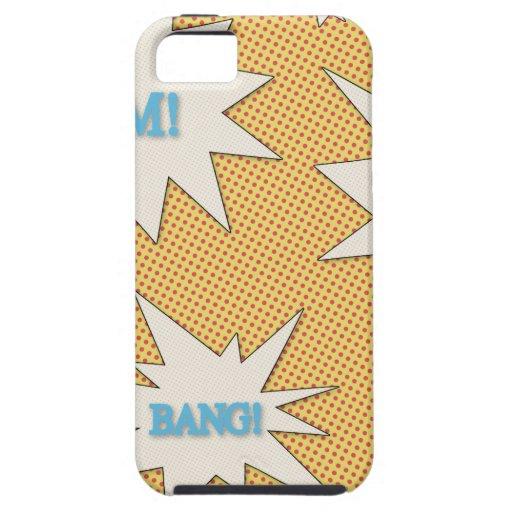 Bam! Pow! Bang! Comic Style iPhone 5/5S Case