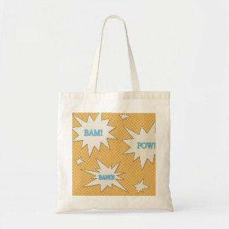 Bam! Pow! Bang! Comic Style Tote Bag
