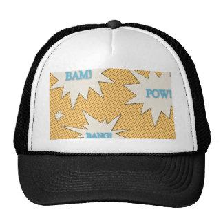 Bam! Pow! Bang! Comic Style Trucker Hat