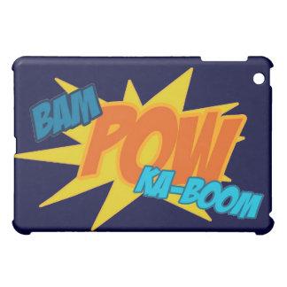 Bam! Pow! Ka-Boom! Comic Action Words  iPad Mini Cases