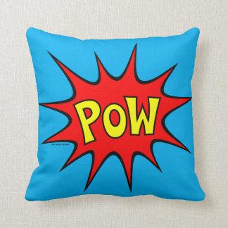 Bam! Pow! Throw Pillows