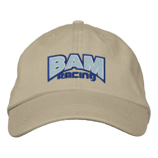 BAM Racing Official Logo Embroidered Hat