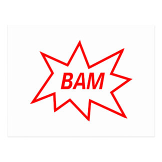 Bam Red Post Cards