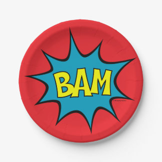 BAM! 7 INCH PAPER PLATE