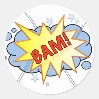 BAM Vintage Comic Sticker