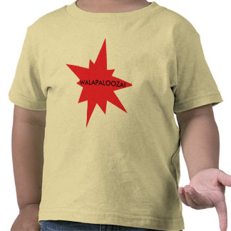 ¡bam, WALAPALOOZA! Camisetas