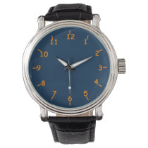 Bama Blueberries and Oranges Wrist Watch