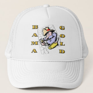 BAMA GOLD TRUCKER HAT