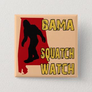 Bama Squatch Watch Pinback Button