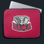 "Bama with Big Al Laptop Sleeve<br><div class=""desc"">Check out these official Alabama Crimson Tide Logo products! Show your Crimson Tide pride by getting your Bama gear here.  These products will allow you to take your Alabama spirit with you wherever you go!</div>"
