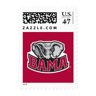 Bama with Big Al Stamp