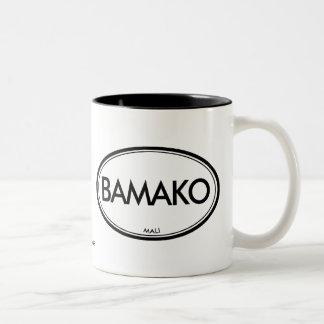 Bamako, Mali Two-Tone Coffee Mug