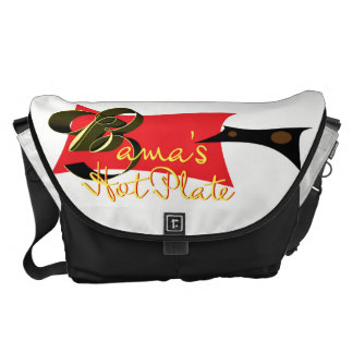 Bama's Hot Plate Courier Bag