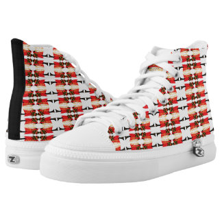 Bama's Hot Plate High-Top Sneakers
